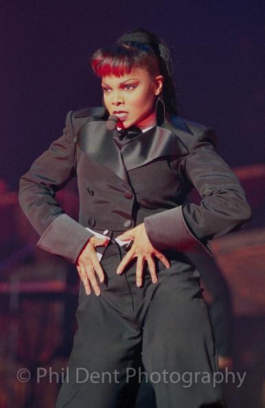 Janet Jackson Velvet Rope DVD 1998 - Phil Dent Photography